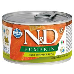 N&D (Naturel&Delicious) - N&D Mini Balkabaklı ve Yaban Domuzlu Köpek Konservesi 140 Gr - 6 Al 5 Öde