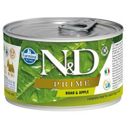N&D (Naturel&Delicious) - N&D Mini Prime Yaban Domuzu ve Elmalı Köpek Konservesi 140 Gr - 6 Al 5 Öde