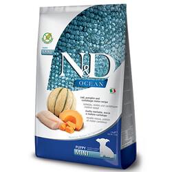 N&D (Naturel&Delicious) - ND Ocean Tahılsız Balkabaklı Morina Balıklı Küçük Irk Yavru Köpek Maması 2,5 Kg + 5 Adet Temizlik Mendili