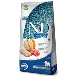 N&D (Naturel&Delicious) - ND Ocean Tahılsız Somon Morina Balığı Büyük Irk Köpek Maması 12 Kg + 10 Adet Temizlik Mendili