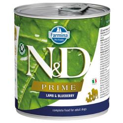 N&D (Naturel&Delicious) - N&D Prime Kuzu Etli ve Yaban Mersini Köpek Konservesi 285 Gr