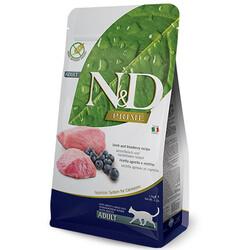 N&D (Naturel&Delicious) - ND Prime Tahılsız Kuzu Yaban Mersini Kedi Maması 1,5 Kg + 5 Adet Temizlik Mendili