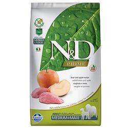 N&D (Naturel&Delicious) - ND Prime Tahılsız Yaban Domuzu Orta ve Büyük Irk Köpek Maması 12 Kg + 10 Adet Temizlik Mendili