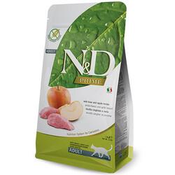 N&D (Naturel&Delicious) - ND Prime Tahılsız Yaban Domuzu Elma Kedi Maması 5 Kg + 5 Adet Temizlik Mendili