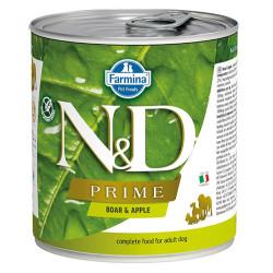 N&D (Naturel&Delicious) - N&D Prime Yaban Domuzu ve Elmalı Köpek Konservesi 285 Gr - 6 Al 5 Öde