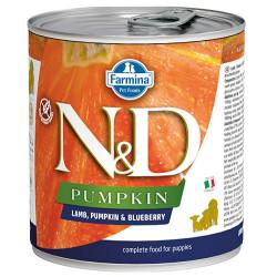 N&D (Naturel&Delicious) - N&D Puppy Balkabak Kuzu Etli ve Yaban Mersini Yavru Köpek Kons. 285 Gr - 6 Al 5 Öde
