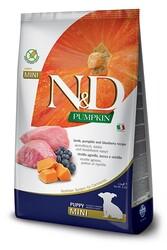 N&D (Naturel&Delicious) - ND Tahılsız Balkabaklı Kuzu Küçük Irk Yavru Köpek Maması 2,5 Kg + 5 Adet Temizlik Mendili
