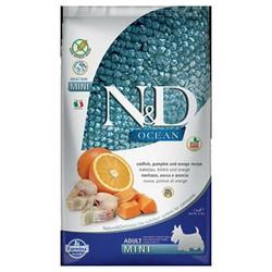 N&D (Naturel&Delicious) - ND Ocean Tahılsız Balkabaklı Morina Balıklı Küçük Irk Köpek Maması 2,5 Kg+5 Adet Temizlik Mendili