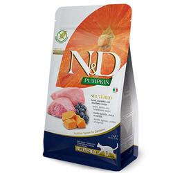 N&D (Naturel&Delicious) - ND Tahılsız Kuzu Etli ve Bal Kabaklı Kısırlaştırılmış Kedi Maması 5 Kg + 10 Adet Temizlik Mendili