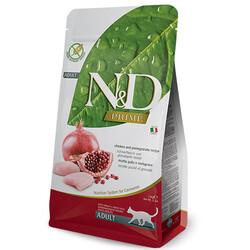 N&D (Naturel&Delicious) - ND Prime Tahılsız Tavuk Nar Kedi Maması 1,5 Kg+5 Adet Temizlik Mendili