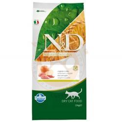 N&D (Naturel&Delicious) - ND Tahılsız Yaban Domuzu ve Elmalı Kedi Maması 10 Kg+10 Adet Temizlik Menidili