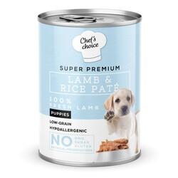 Chefs Choice - New Chefs Choice Pate Lamb&Rice Puppy Kuzu Pirinçli Yavru Köpek Yaş Maması 400 Gr
