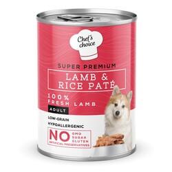 Chefs Choice - New Chefs Choice Pate Lamb&Rice Kuzu Pirinçli Köpek Yaş Maması 400 Gr