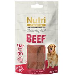 Nutri Canin - Nutri Canin Beef Biftek Etli Tahılsız Köpek Ödülü 80 Gr