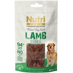 Nutri Canin - Nutri Canin Lamb Cubes Kuzu Etli Tahılsız Köpek Ödülü 80 Gr