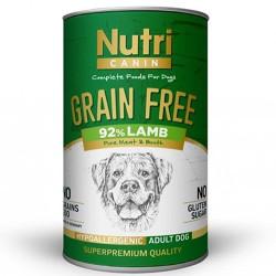Nutri - Nutri Canine Grain Free Tahılsız Kuzu Etli Köpek Konservesi 400 Gr