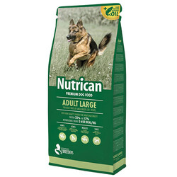 Nutrican - Nutrican Adult Large Tavuk Etli Büyük Irk Köpek Maması 15 Kg + 2 Kg ( Toplam 17 Kg )
