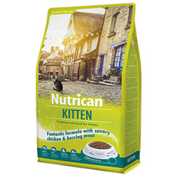 Nutrican - Nutrican Kitten Tavuk Etli Yavru Kedi Maması 2 Kg