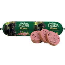 Nutrican - Nutrican Sausage Tavuk Etli Köpek Ödül Salamı 800 Gr