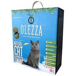Olezza - Olezza Mısır Granülü Natural Kedi Kumu 10 Lt ( 5,5 Kg )