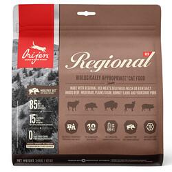 Orijen - Orijen Regional Red Kırmızı Etli Tahılsız Kedi Maması 340 Gr