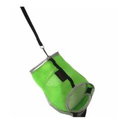 Diğer / Other - Flipper Fileli Kedi Göğüs Tasması + Uzatma Kayışı Seti Yeşil