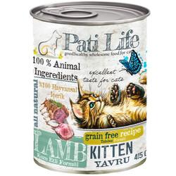 Pati Life - Pati Life Kitten Kuzu Etli Yavru Tahılsız Kedi Konservesi 415 Gr