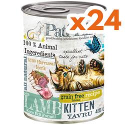 Pati Life - Pati Life Kitten Kuzu Etli Yavru Tahılsız Kedi Konservesi 415 Gr x 24 Adet