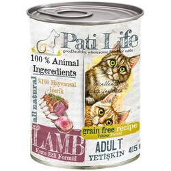 Pati Life - Pati Life Lamb Kuzu Etli Tahılsız Kedi Konservesi 415 Gr