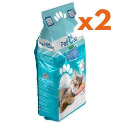 PatiCat - PatiCat Marsilya Sabun Kokulu Doğal Kalın Taneli Kedi Kumu 10 Lt x 2 Adet