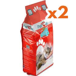 PatiCat - PatiCat Naturel Kokusuz Kalın Taneli Kedi Kumu 10 Lt x 2 Adet