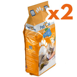 PatiCat - PatiCat Portakal Kokulu Doğal İnce Taneli Kedi Kumu 10 Lt x 2 Adet