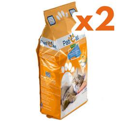 PatiCat - PatiCat Portakal Kokulu Doğal Kalın Taneli Kedi Kumu 10 Lt x 2 Adet