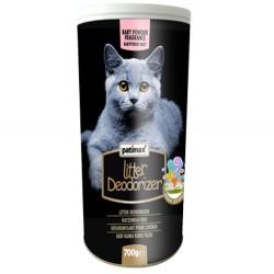 Patimax - Patimax Deodorizer Bebek Pudralı Kedi Kumu Koku Tozu 700 Gr