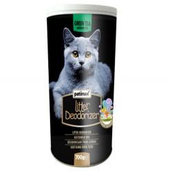 Patimax - Patimax Deodorizer Yeşil Çay Kedi Kumu Koku Tozu 700 Gr
