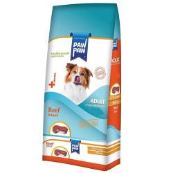 Paw Paw - Paw Paw Biftekli Yetişkin Köpek Maması 3 Kg