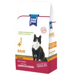 Paw Paw - Paw Paw Gourmet Gurme Yetişkin Kedi Maması 1500 Gr