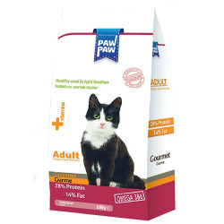Paw Paw - Paw Paw Gourmet Gurme Yetişkin Kedi Maması 500 Gr