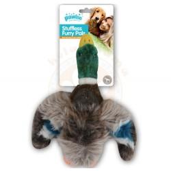 Pawise - Pawise 15088 Ördek Sesli Peluş Köpek Oyuncağı 27 Cm