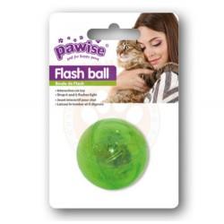 Pawise - Pawise 28210 Işıklı Renkli Top Kedi Oyuncağı
