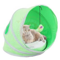 Pawise - Pawise 28570 Minder ve Oyuncaklı Kedi Tentesi 38 x 38 x 43 Cm