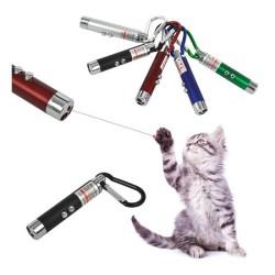 Pawise - Pet Pretty Lazer Renkli Kedi Oyuncağı (3 Adet Pil)