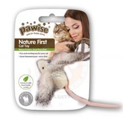 Pawise - Pawise 28241 Peluş Tüylü Catnip (Kedi Otlu) Kedi Oyuncağı