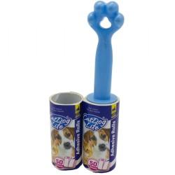 Cat Dog Life - Cat Dog Life Tüy Toplama Rulo Seti 50 Yaprak (Yedek Rulo)
