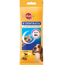 Pedigree - Pedigree Dentastix Medium Köpek Ödül Maması 77 Gr (3 Sticks)