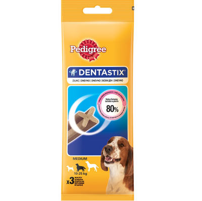 Pedigree Dentastix Medium Köpek Ödül Maması 77 Gr (3 Sticks)