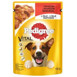 Pedigree - Pedigree Gravy Jöle İçinde Sığır Etli Köpek Yaş Maması 100 Gr