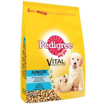 Pedigree Junior Tavuk Etli Yavru Köpek Maması 3 Kg