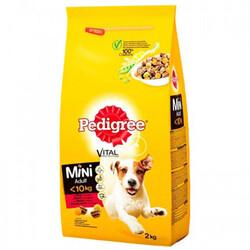 Pedigree - Pedigree Mini Adult Sığır Etli Küçük Irk Köpek Maması 2 Kg