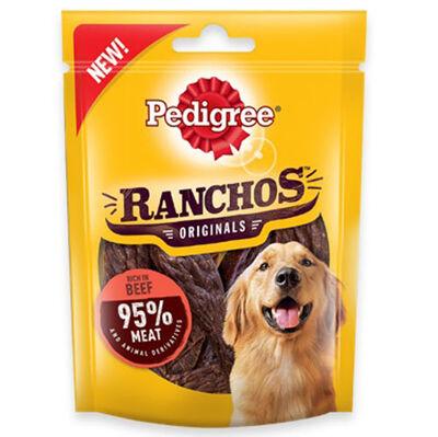 Pedigree Ranchos Originals Sığır Etli Yumuşak Köpek Ödülü 70 Gr